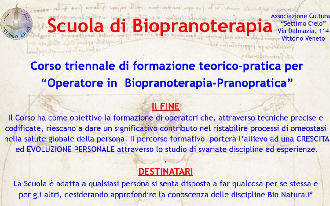 """Scuola di Biopranoterapia: 2 Dicembre """"Open Day"""" gratuito"""