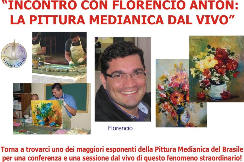 06 Novembre: Florencio Anton in una sessione di Pittura Medianica