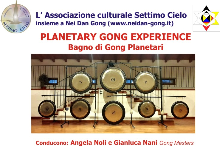 21 Gennaio dalle 20 alle 22: Planetary Gong Experience