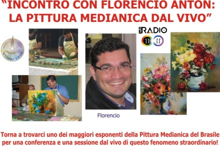 22 Gennaio: torna il medium pittore Florencio Anton